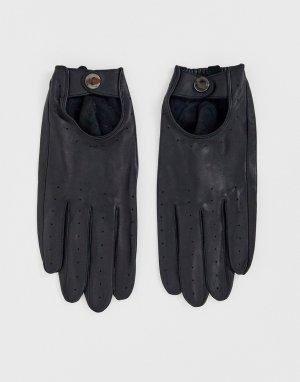 Черные перчатки для вождения и сенсорных гаджетов Barneys Original-Черный Originals