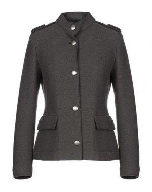 Пиджак CAPPELLINI by PESERICO. Цвет: свинцово-серый