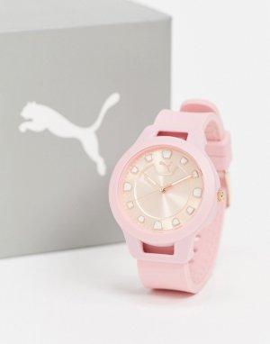 Розовые часы -Розовый Puma