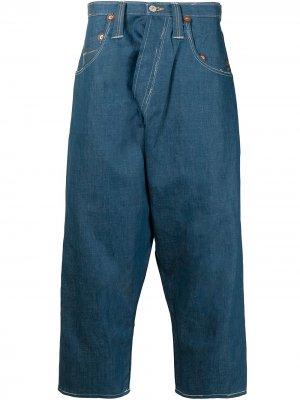 Зауженные джинсы Junya Watanabe MAN. Цвет: синий