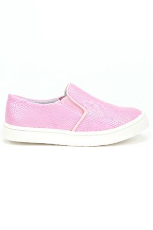 Слипоны MURSU. Цвет: розовый
