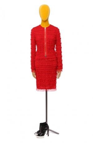 Юбка Givenchy. Цвет: красный