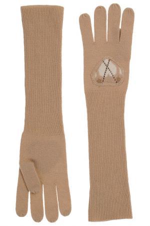 Перчатки BeaYukMui. Цвет: бежевый
