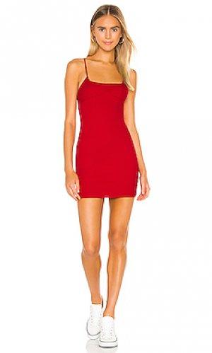 Обтягивающее платье tamara superdown. Цвет: красный