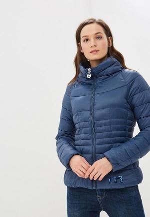Куртка утепленная Met ME486EWCSUF7. Цвет: синий