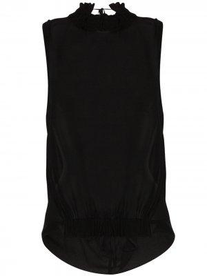 Блузка McLottie Ann Demeulemeester. Цвет: черный