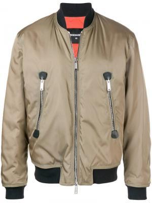 Куртка-бомбер с логотипом Dsquared2