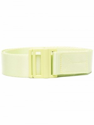Logo-print belt Y-3. Цвет: зеленый
