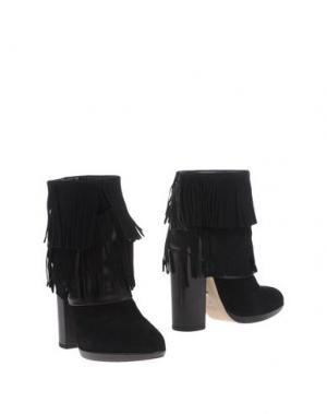 Полусапоги и высокие ботинки ATOS LOMBARDINI. Цвет: черный