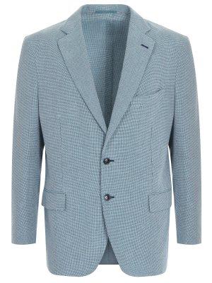 Пиджак классический хлопковый ANDREA CAMPAGNA