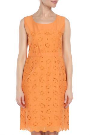 Платье Luisa Cerano. Цвет: оранжевый