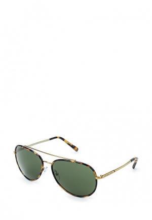 Очки солнцезащитные Michael Kors MK1019 116371. Цвет: коричневый
