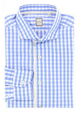 Рубашка SMALTO. Цвет: синий