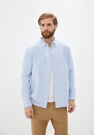 Рубашка DC Shoes OXFORD LS 211 M WVTP BFB0. Цвет: голубой