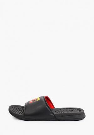 Сланцы DC Shoes BOLSA M SNDL XKKY. Цвет: черный