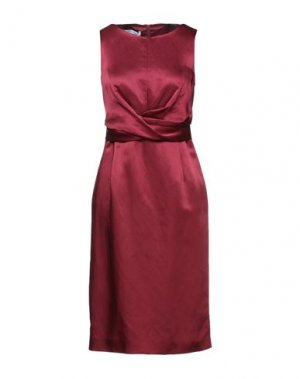 Платье миди CARACTÈRE. Цвет: красно-коричневый