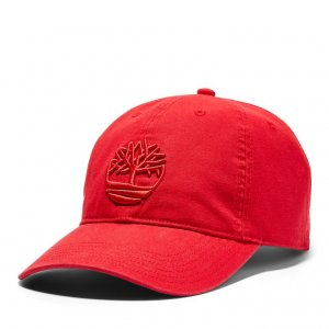Кепки Cotton Canvas Baseball Cap Timberland. Цвет: красный