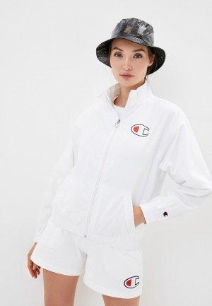 Ветровка Champion ROCHESTER1919 Full Zip Sweatshirt. Цвет: белый
