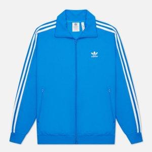 Мужская олимпийка Adicolor Classics Beckenbauer Primeblue adidas Originals. Цвет: голубой