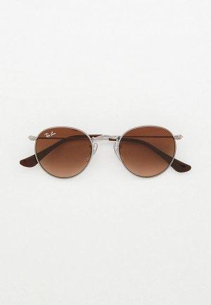 Очки солнцезащитные Ray-Ban® RJ9547S 200/13. Цвет: серебряный