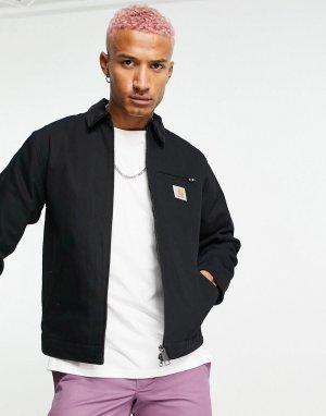 Черная куртка Detroit-Черный цвет Carhartt WIP