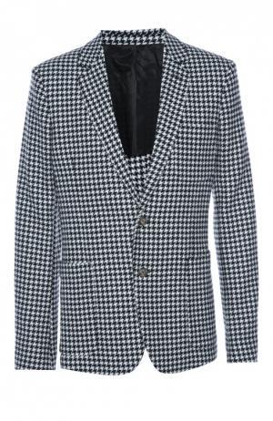Пиджак Ami. Цвет: серый