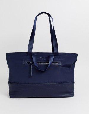 Темно-синяя сумка на плечо Fiorelli