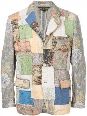 Пиджак в технике пэчворк Comme Des Garçons Pre-Owned. Цвет: разноцветный