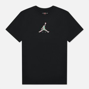 Мужская футболка 23 Swoosh Crew Neck Jordan. Цвет: чёрный