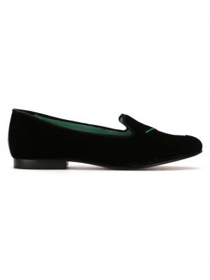 Velvet Drinks loafers Blue Bird Shoes. Цвет: черный