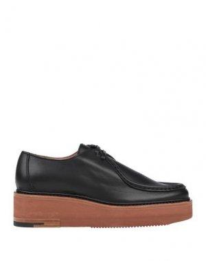 Обувь на шнурках DRIES VAN NOTEN. Цвет: черный