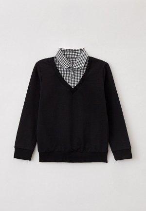Пуловер Mark Formelle. Цвет: черный