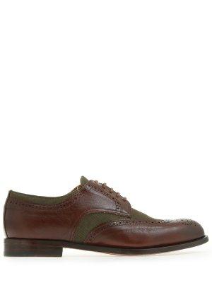 Туфли-броги комбинированные DOUCAL`S