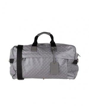 Дорожная сумка GHERARDINI. Цвет: серый