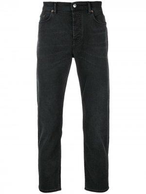 Зауженные джинсы River Acne Studios. Цвет: черный