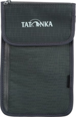Кошелек NECK WALLET Tatonka. Цвет: серый