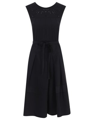 Платье с шитьем HIGH