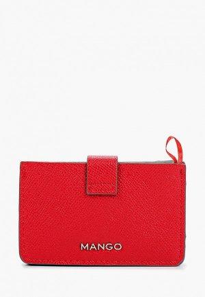 Визитница Mango M MUXIA. Цвет: красный