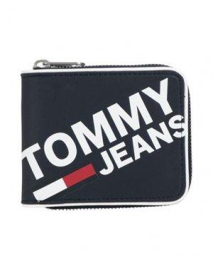 Бумажник TOMMY JEANS. Цвет: темно-синий