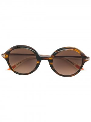 Солнцезащитные очки Having A Ball Christian Roth. Цвет: коричневый