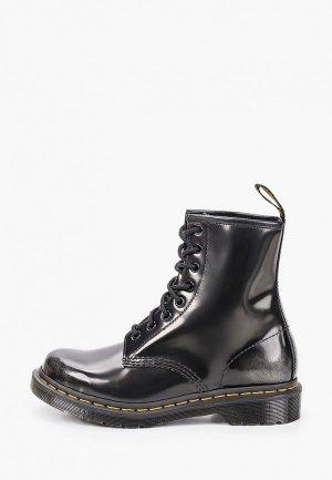 Ботинки Dr. Martens 1460 W-8 Eye Boot. Цвет: черный