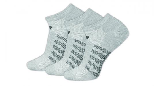 Носки No Show New Balance. Цвет: серый
