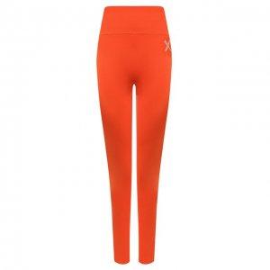 Леггинсы Sport Kenzo. Цвет: оранжевый
