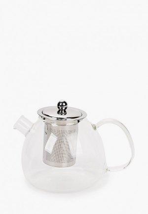 Чайник заварочный Walmer TET-A-TET, 1л.. Цвет: прозрачный