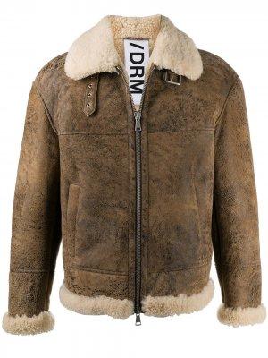 Куртка из овчины Drome. Цвет: коричневый