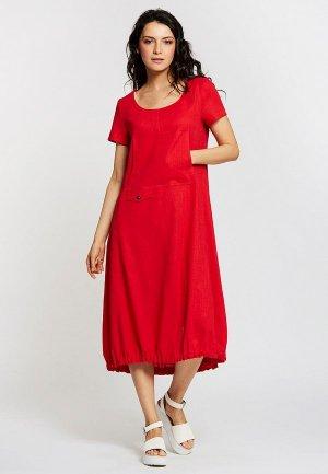 Платье Dimma. Цвет: красный