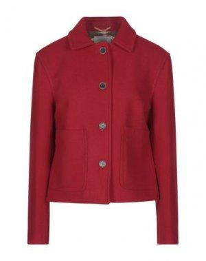 Пальто GLOVERALL. Цвет: красный