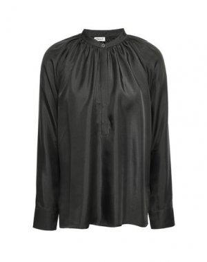 Блузка FILIPPA K. Цвет: свинцово-серый