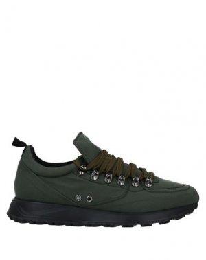 Низкие кеды и кроссовки BARRACUDA. Цвет: зеленый-милитари