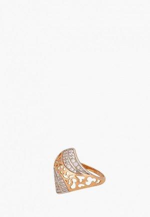Кольцо Наше Золото. Цвет: золотой